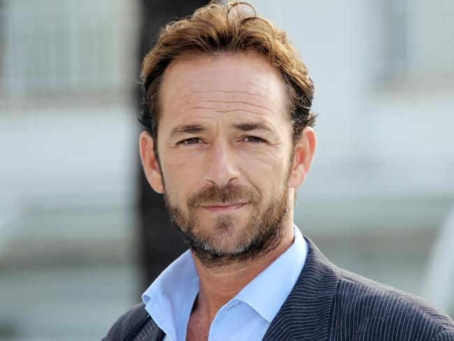 Original star Luke Perry died in March. Picture: AFP
