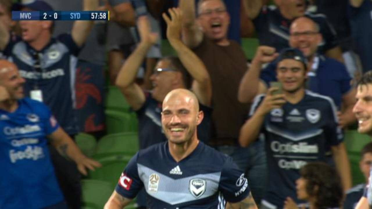 Troisi scores Victory's second