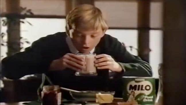 1989 Milo commercial