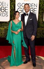 Jada Pinkett Smith and Will Smith attend the 73rd Annual Golden Globe Awards held at the Beverly Hilton Hotel on January 10, 2016 in Beverly Hills, California. Jason Merritt/Getty Images/AFP