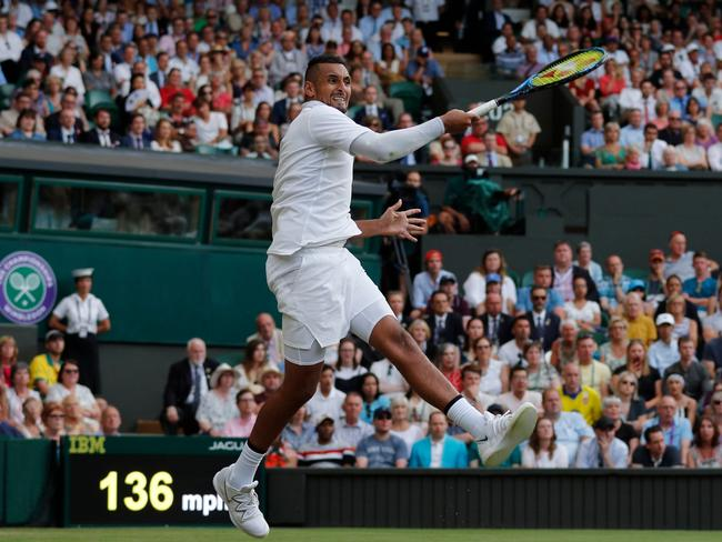 There's no doubting Kyrgios's talent.