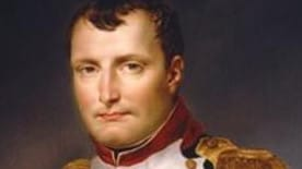 French statesman and military leader Napoleon Bonaparte.