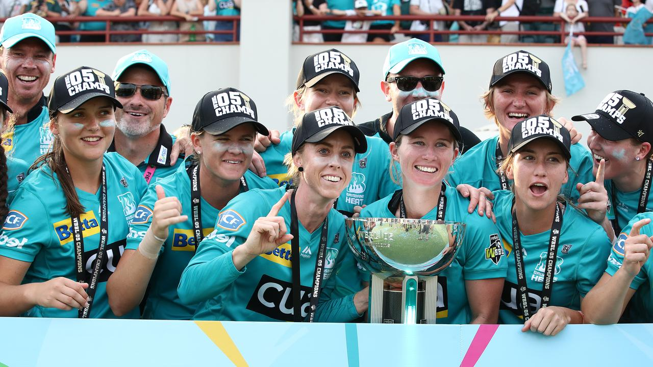 Brisbane Heat has won back-to-back titles. Photo: Jono Searle/Getty Images.