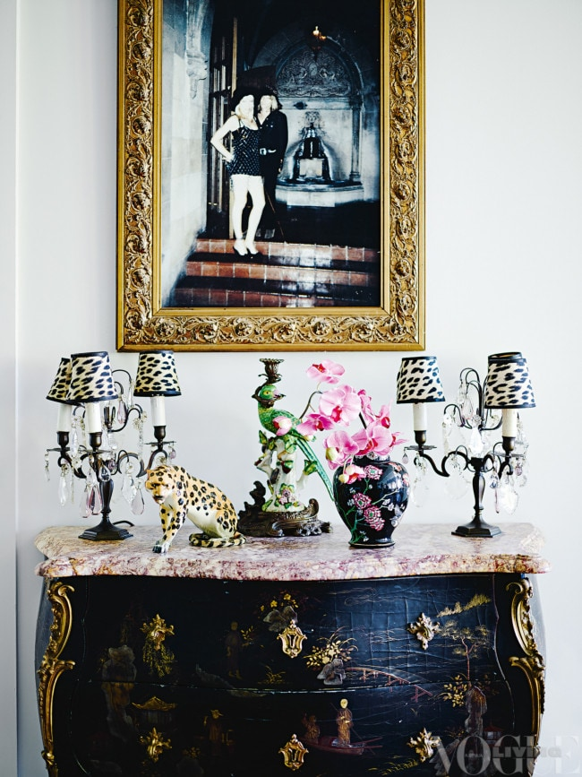 fdb47ae2af5 Antiques and rockabilly: the home of Wheels & Dollbaby's Melanie Greensmith  - Vogue Australia