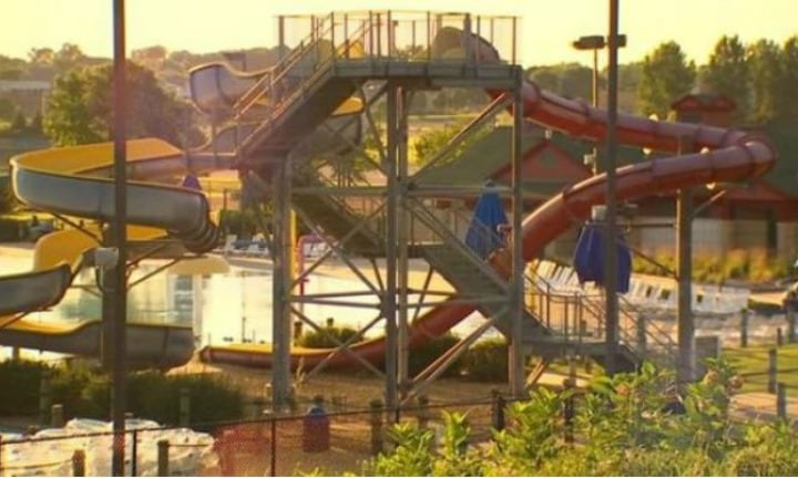 Teen arrested after throwing boy, 8, off top of water slide