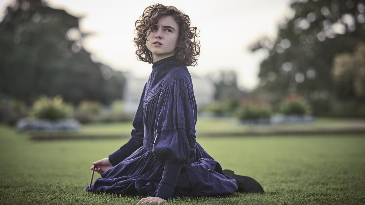 Inez Curro plays Sara Weybourne in Picnic at Hanging Rock