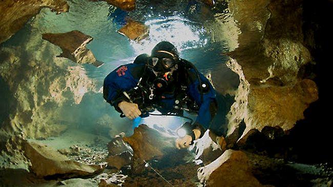 Death Diver Agnes Milowka 'couldn't Wait To Get Underground