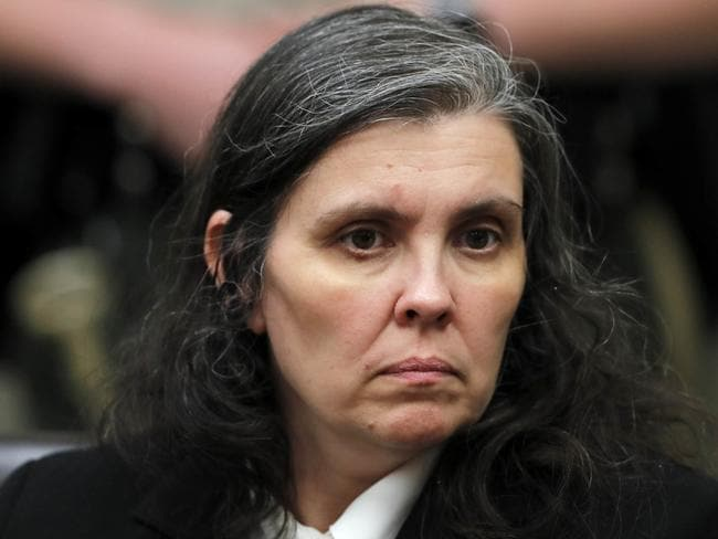 Louise Turpin appears in court this week. Picture: Mike Blake/Pool Photo via AP