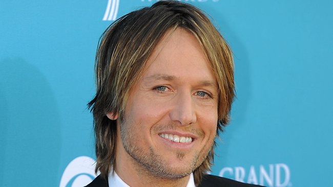 Country Music singer Keith Urban features in a karaoke video to launch his North American tour next year. (Pictutre: AFP/Gabriel Bouys)