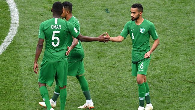 Saudi Arabia were a major flop in the opening game.