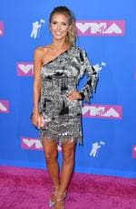 US TV personality Audrina Patridge attends the 2018 MTV Video Music Awards at Radio City Music Hall on August 20, 2018 in New York City. Picture: ANGELA WEISS / AFP