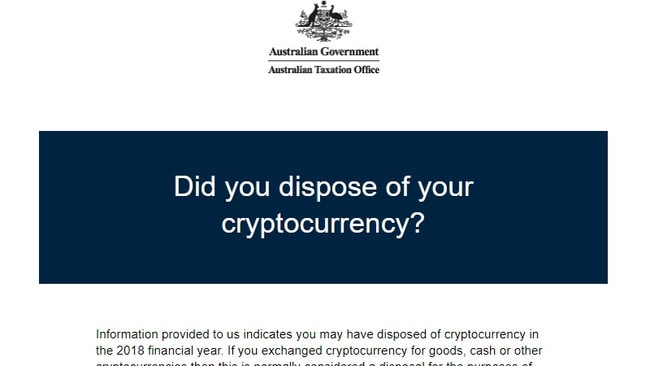 Tax on cryptocurrency australia