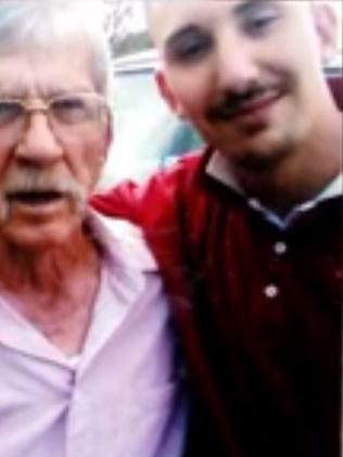 Eric Bradlee Miller, pictured with his grandfather: 20 years in prison.