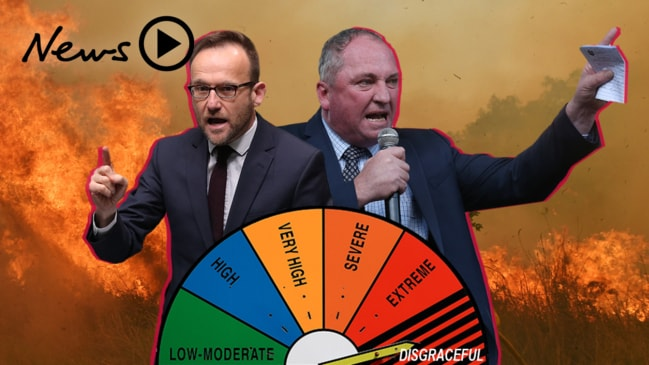 """A bunch of arsonists"": politicians ""disgracing themselves"" over bushfire comments"