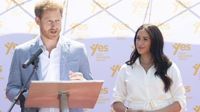 Harry and Meghan have spoken about their recent struggles. Picture: Facundo Arrizabalaga — Pool/Getty Images