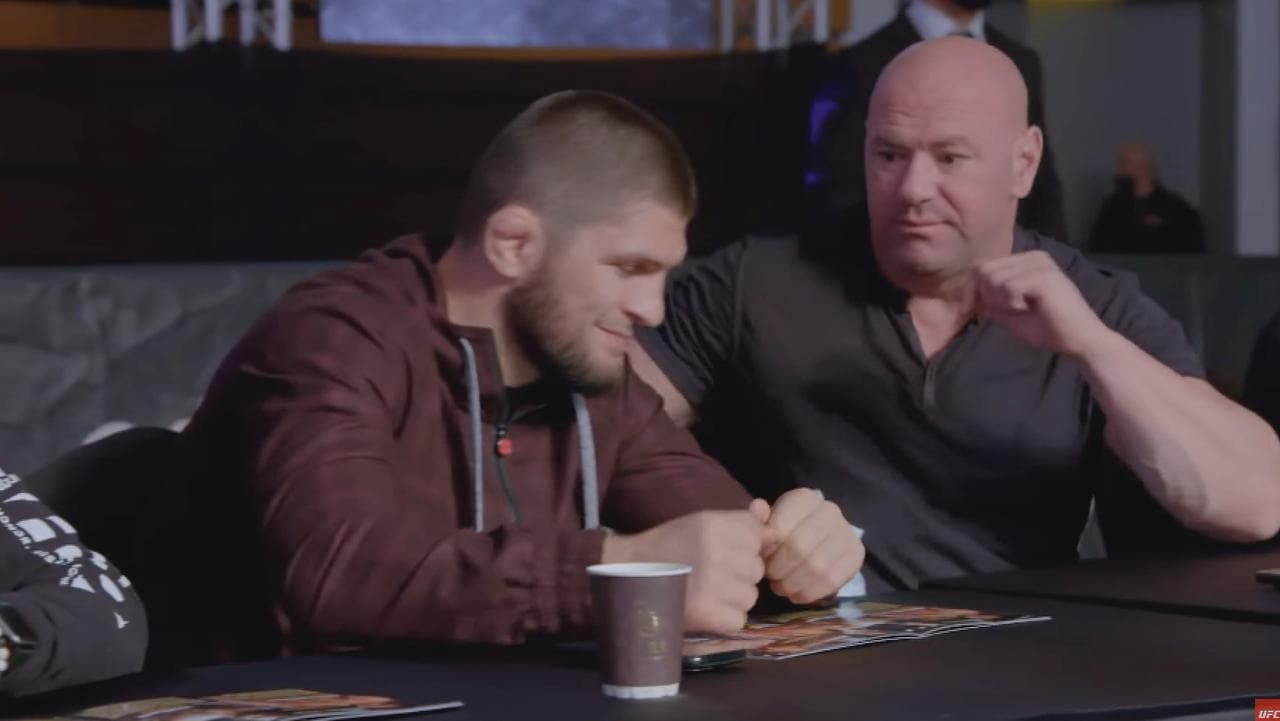 'Imagine what you and Conor would do': White tries to goad Khabib into UFC return – Fox Sports