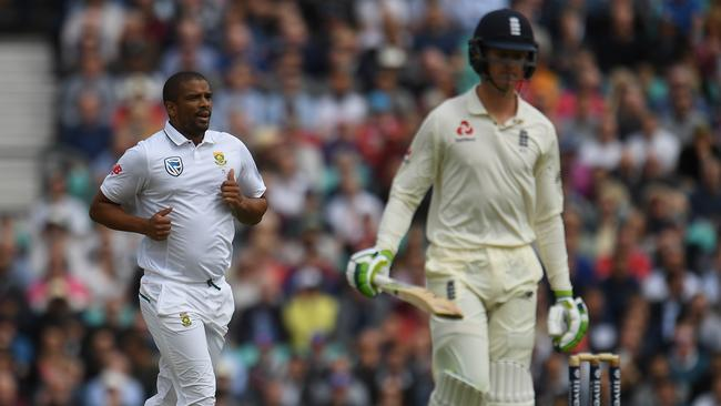 Jennings struggled with the bat against Sri Lanka and the West Indies this winter. Picture: Mike Hewitt/Getty Images