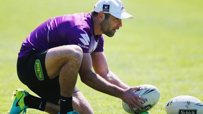 Cameron Smith of the Storm is nicknamed The Accountant.
