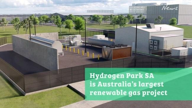 Hydrogen Park SA at Tonsley