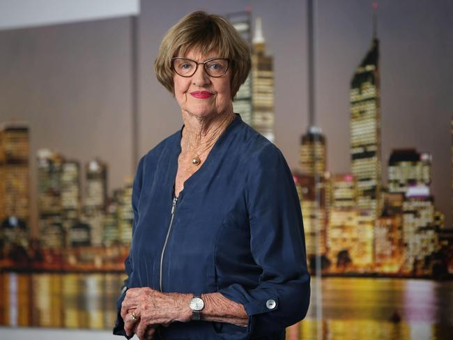 Margaret Court at the Victory Life Church in Osborne Park.