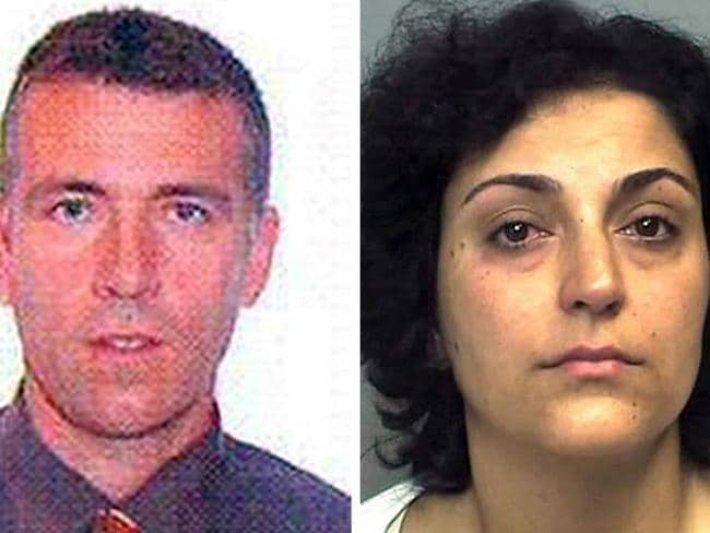 Detained ... Naghemeh King (left) and Brett King (right), the parents of five-year-old Ashya King. Picture: Hampshire Police/AP