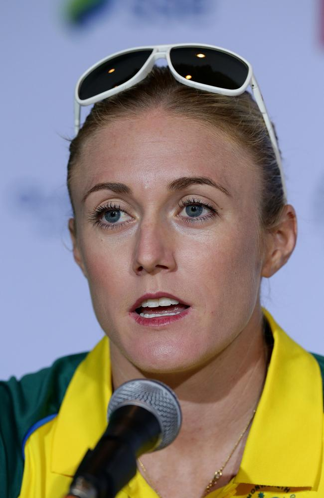Sally Pearson says she'll wait until after the Games to addres the issue of her $1300 fine. Picture: Adam Head