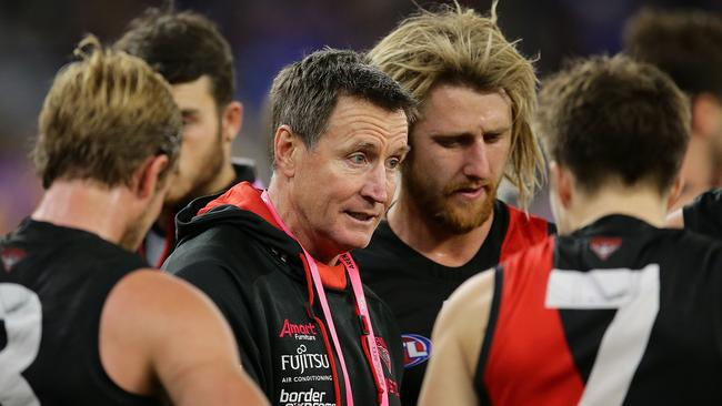 Essendon coach John Worsfold has led the Bombers for the past four seasons.