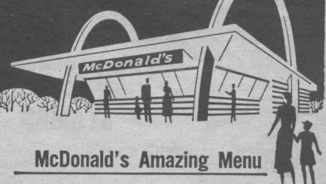 McDonald's original menu from 1940: Pics
