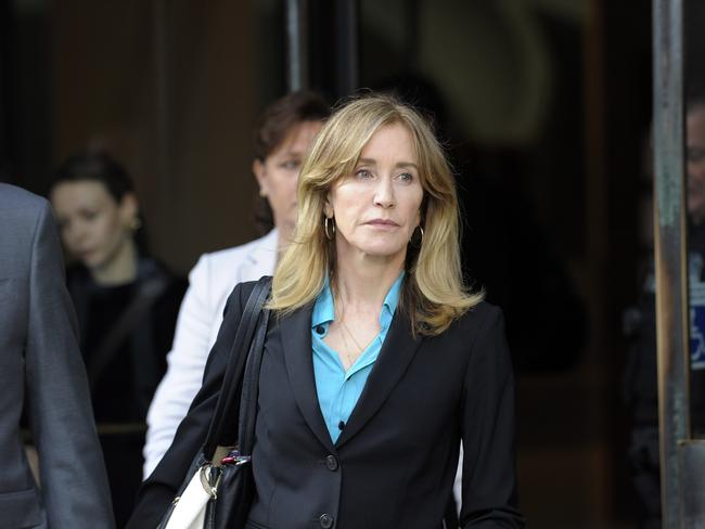 Felicity Huffman has accepted a plea deal over the charges. Picture: Joseph Prezioso / AFP.