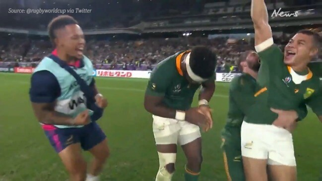 South Africa beats England in Rugby World Cup final 2019
