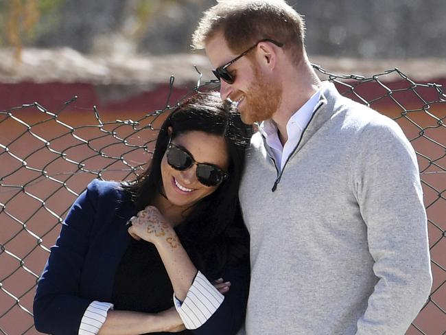 Meghan and Harry could already be parents, according to social media buzz. Picture: Facundo Arrizabalaga/Pool via AP, File