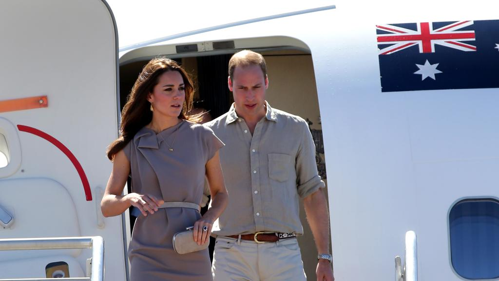 The royal couple last visited Australia in 2014. Picture: Gregg Porteous