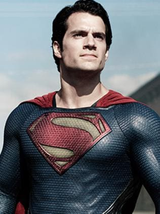 Henry Cavill as Superman. Picture: Supplied