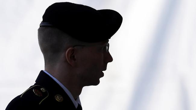 Manning said he had been held in solitary confinement for 23 hours a day.