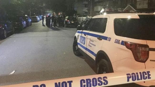At least five people have been stabbed. Picture: ABC7