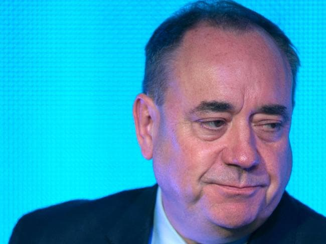 Stepping down ... First Minister Alex Salmond has resigned as first minister and leader of his political party. Picture: Matt Cardy/Getty Images