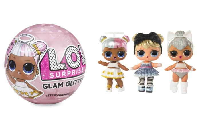 <b>10. L.O.L. SURPRISE! GLAM GLITTER.</b> Just when you think the LOL Dolls collection can't possibly get any cuter, along comes a GLAM version. Discover seven new surprises with the new GLAM range! $10.00 at Kmart.