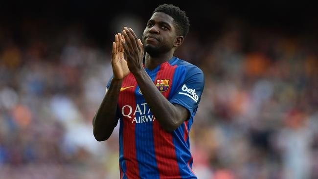 Samuel Umtiti is attracting interest from Manchester City.