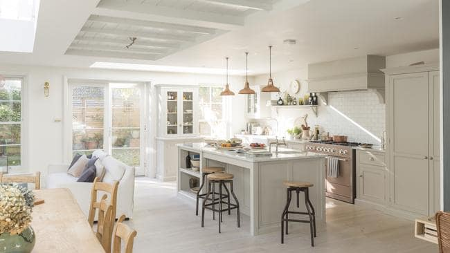 Kitchens are generally the heart of the home.