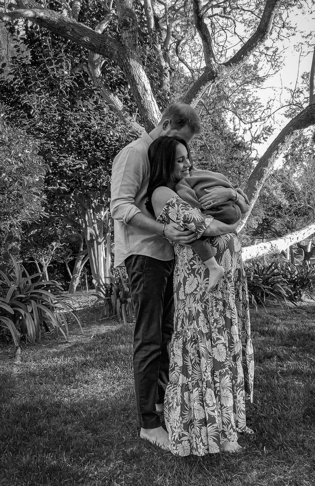 The Duke and Duchess of Sussex are expecting their second child, a little girl. Picture: Misan Harriman/The Duke and Duchess of Sussex via Getty Images