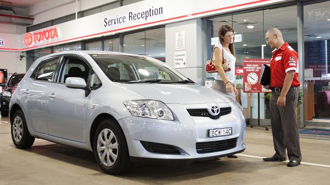 Toyota says it is currently reviewing its warranty coverage. Picture: Supplied.