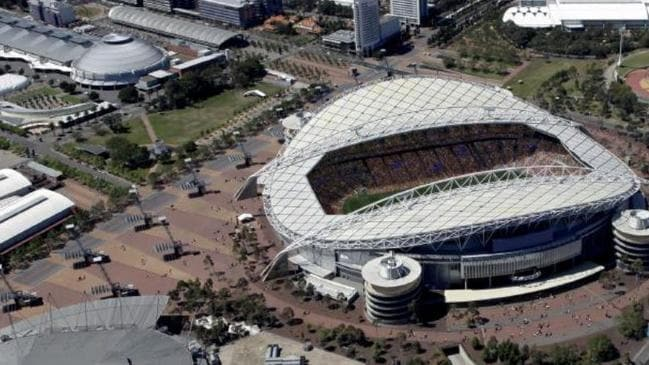 The existing ANZ Stadium. Picture: NSW Planning Department.