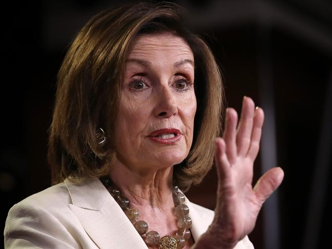 Nancy Pelosi has called for the Democrats to unify. Picture: Getty Images/AFP