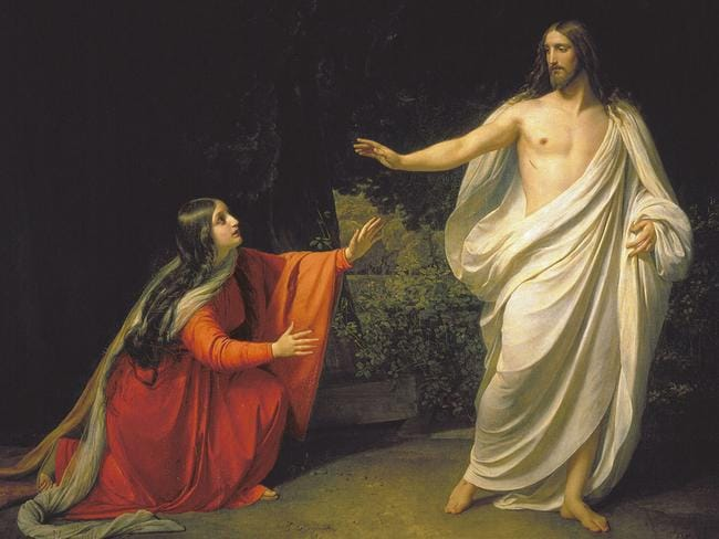 Scarlet woman? While the Bible itself is obscure about Mary Magdalene's role, at best calling her a 'companion', the Church has been more resolute — for centuries branding her a whore.