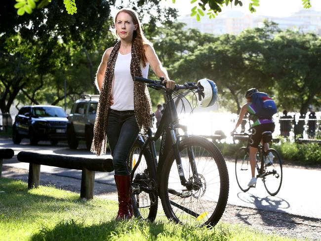Bicycle Queensland chief executive officer Anne Savage said ditching the car in favour of a bike had huge cost savings as well as health and environmental benefits. Picture: AAP