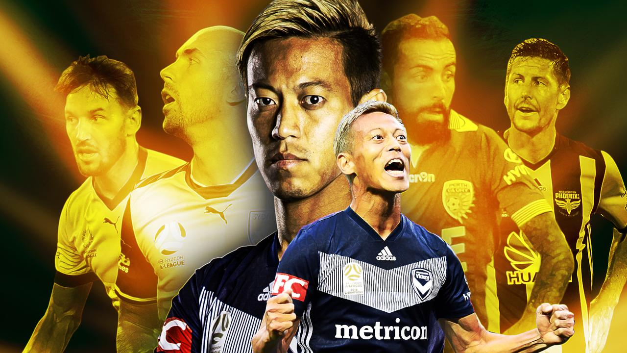 Keisuke Honda is flying in the A-League