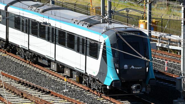 Sydney Metro: Driverless train breaks down between
