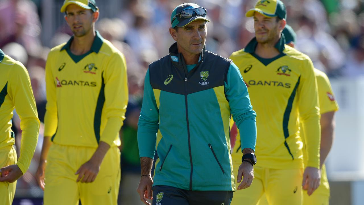 The team's first test after Cape Town was a five-match ODI series in England in June which it was humiliated 5-0 in.