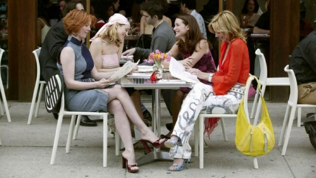 Carrie Bradshaw and co. Photo: HBO