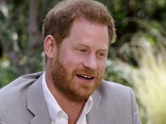 Prince Harry has bagged a job as the 'chief impact officer' at a Silicon Valley startup. Picture: Screengrab